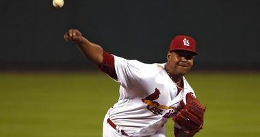 St. Louis Cardinals pitcher Alex Reyes