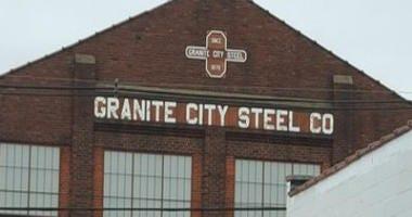 Granite City Steel building in Illinois