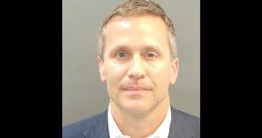 Governor Eric Greitens' mugshot