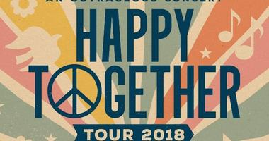 Happy Together 2018 Tour poster