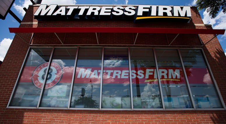A Mattress Firm storefront on West Roosevelt Rd. and South Canal St. on Thursday, July 14, 2016, in Chicago.