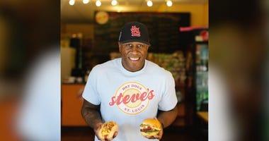 Steve's Hot Dogs owner Steve Ewing