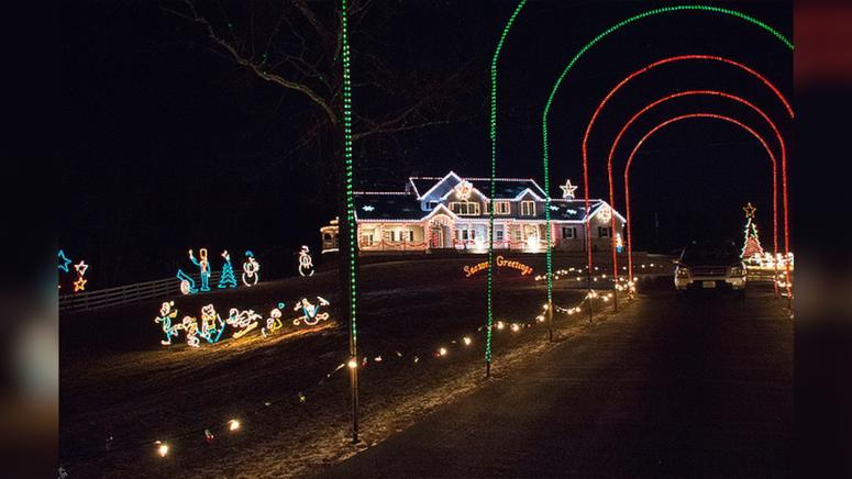 10 Best Home Holiday Lights Displays In The St Louis Area
