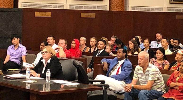 New American Citizens at Naturalization Ceremony in St. Louis