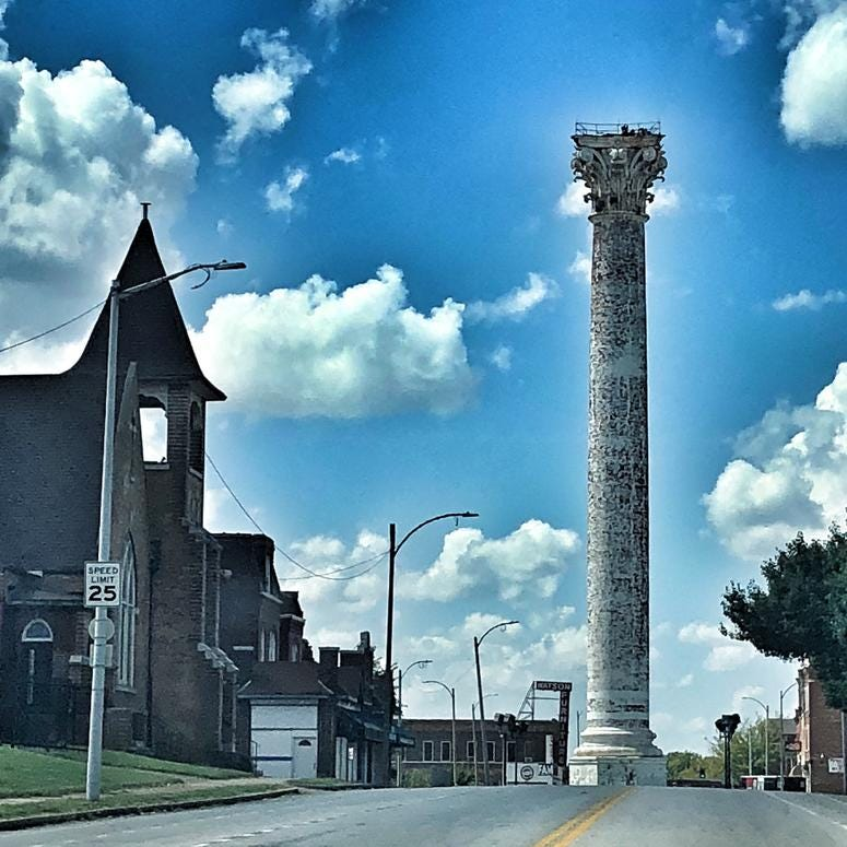 Grand Avenue Water Tower in College Hill Neighborhood. Photo by D. Monterrey