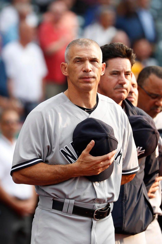 New York Yankees manager Joe Giradi