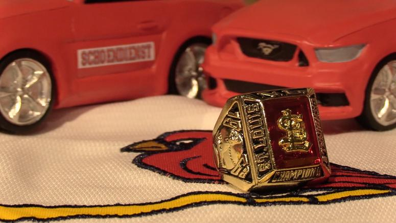 18b62ba2d7df ... of Bob Gibson s MVP season with a 1.12 ERA that led St. Louis to the  World Series. The replica rings have been among the most popular giveaways  for ...