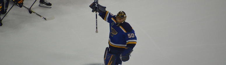 JOrdan Binnington, St. Louis Blues