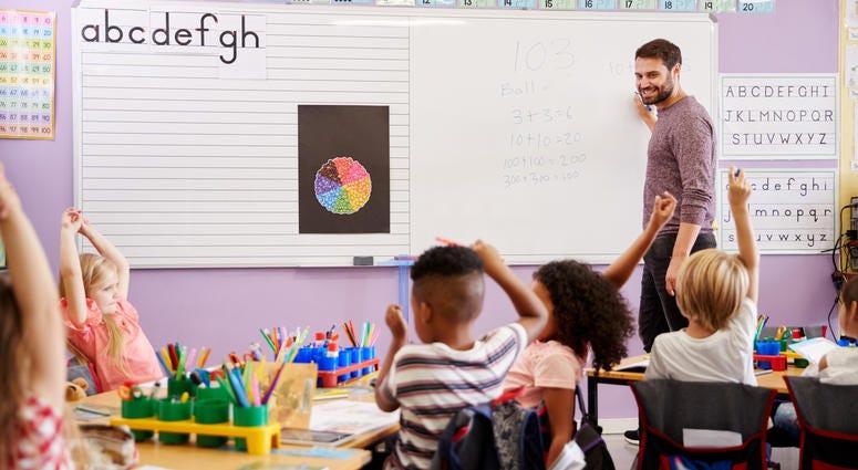 kids' classroom
