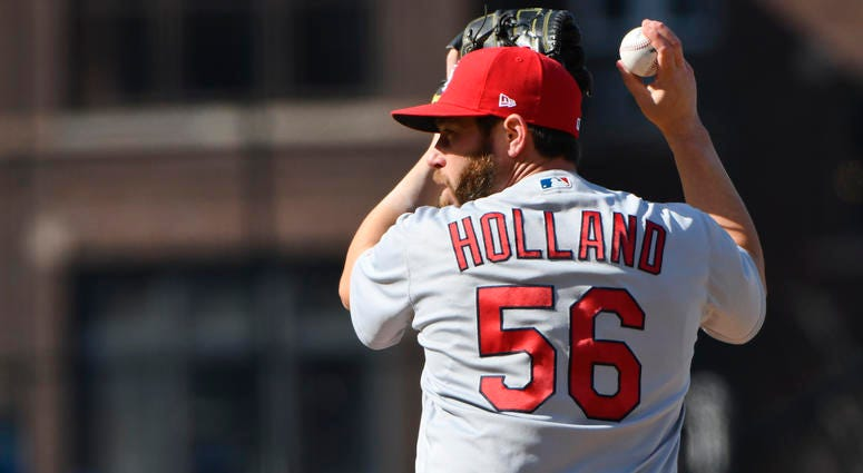 St. Louis Cadinals pitcher Greg Holland.