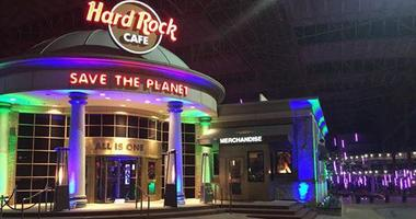 Hard Rock Cafe in St. Louis.