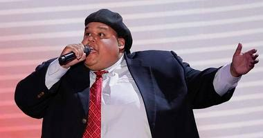 In this Aug. 28, 2012, file photo, Neal Boyd sings during the Republican National Convention in Tampa, Fla.