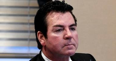 In this Wednesday, Oct. 18, 2017, file photo, Papa John's founder and CEO John Schnatter attends a meeting in Louisville, Ky.
