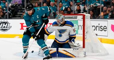 St. Louis Blues set to battle wounded San Jose Sharks in Game 6