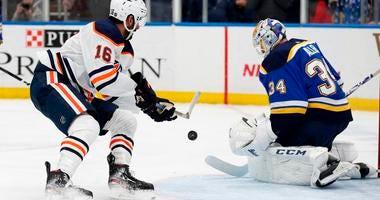 Blues vs. Oilers