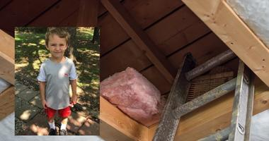 6-year-old Braedence Jones found in attic in Missouri.