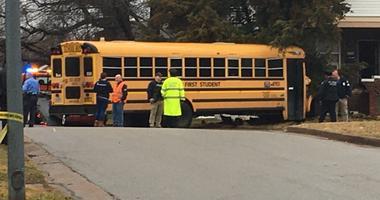 school bus, accident