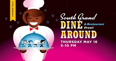 South Grand Dine-Around St. Louis' international avenue international food