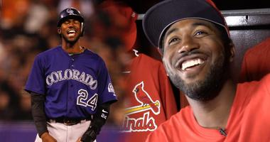 Dexter Fowler of the St. Louis Cardinals.