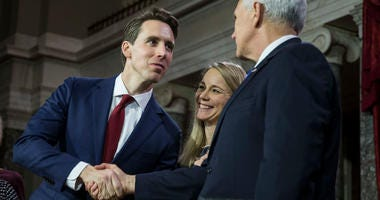 Josh Hawley inauguration