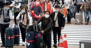 Wuhan coronavirus infections