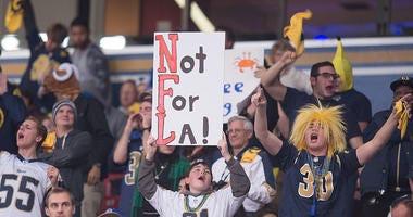 Final St. Louis Rams game