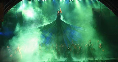 wicked peformed during tony awards in new york city 2004