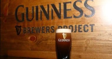 A Guinness pint