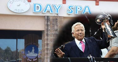 Orchids of Asia Spa, Jupiter, Florida where New England Patriots owner Robert Kraft allegedly solicited prostitution.