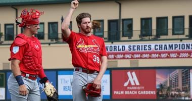 Cardinals pitcher Miles Mikolas.