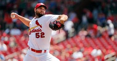 St. Louis Cardinals starting pitcher Michael Wacha