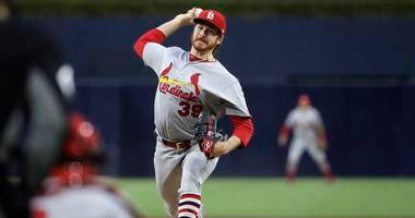 St. Louis Cardinals pitcher Miles Mikolas