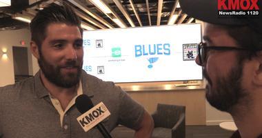 Pat Maroon, Blues forward speaks with KMOX's Alex Ferrario.
