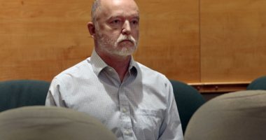 Thomas Bruce in court on Dec. 5, 2018