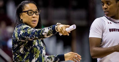 South Carolina Gamecocks head coach Dawn Staley