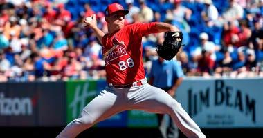 St. Louis Cardinals relief pitcher Ryan Helsley