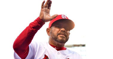 St. Louis Cardinals third base coach Jose Oquendo