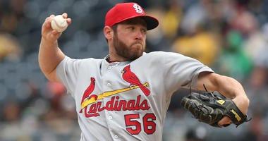 St. Louis Cardinals pitcher Greg Holland.