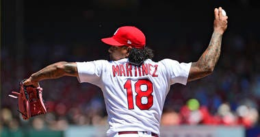 Cardinals pitcher Carlos Martinez.