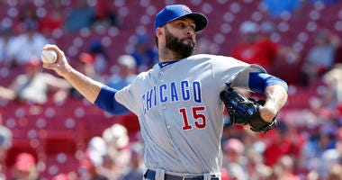 Chicago Cubs pitcher Brandon Morrow.