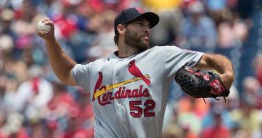 St. Louis Cardinals pitcher Michael Wacha.