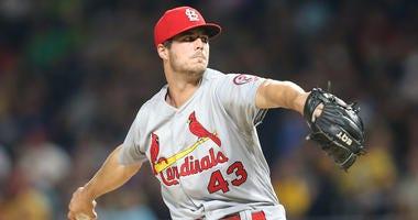 St. Louis Cardinals pitcher Dakota Hudson