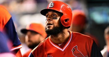 St. Louis Cardinals outfielder Jose Martinez.