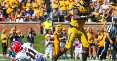 Missouri Tigers defensive lineman Tre Williams
