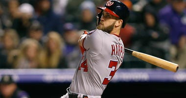 Washington Nationals outfielder Bryce Harper