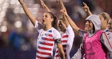 United States forward Alex Morgan