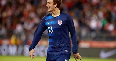 United States forward Josh Sargent.