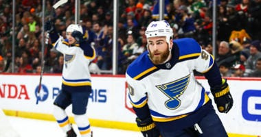 St. Louis Blues forward Ryan O'Reilly.