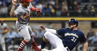 Brewers use the long ball to down Cardinals 8-4 in Milwaukee
