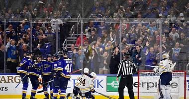 Blues vs. Sabres